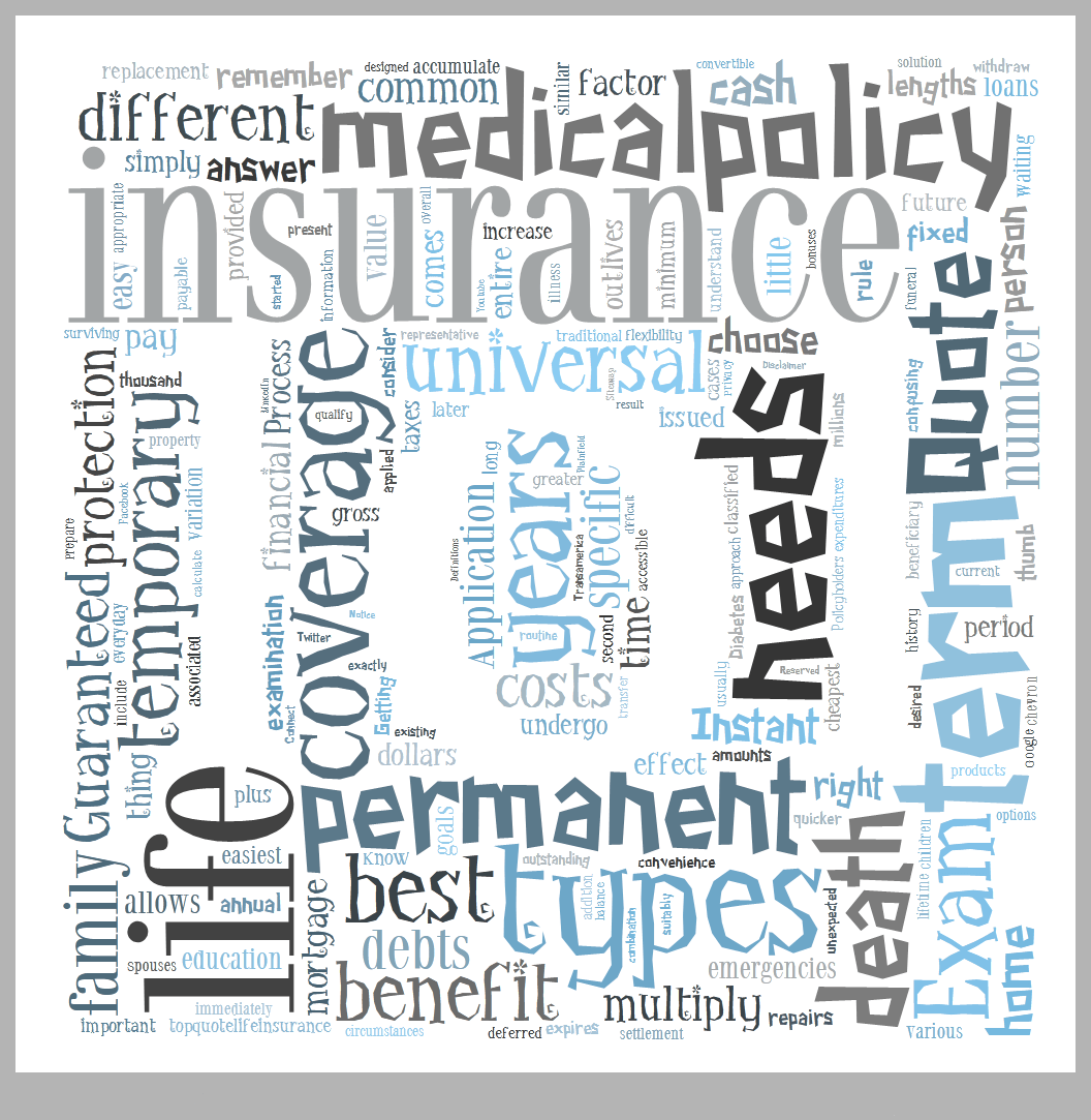 TYPES OF LIFE INSURANCE COVERAGE