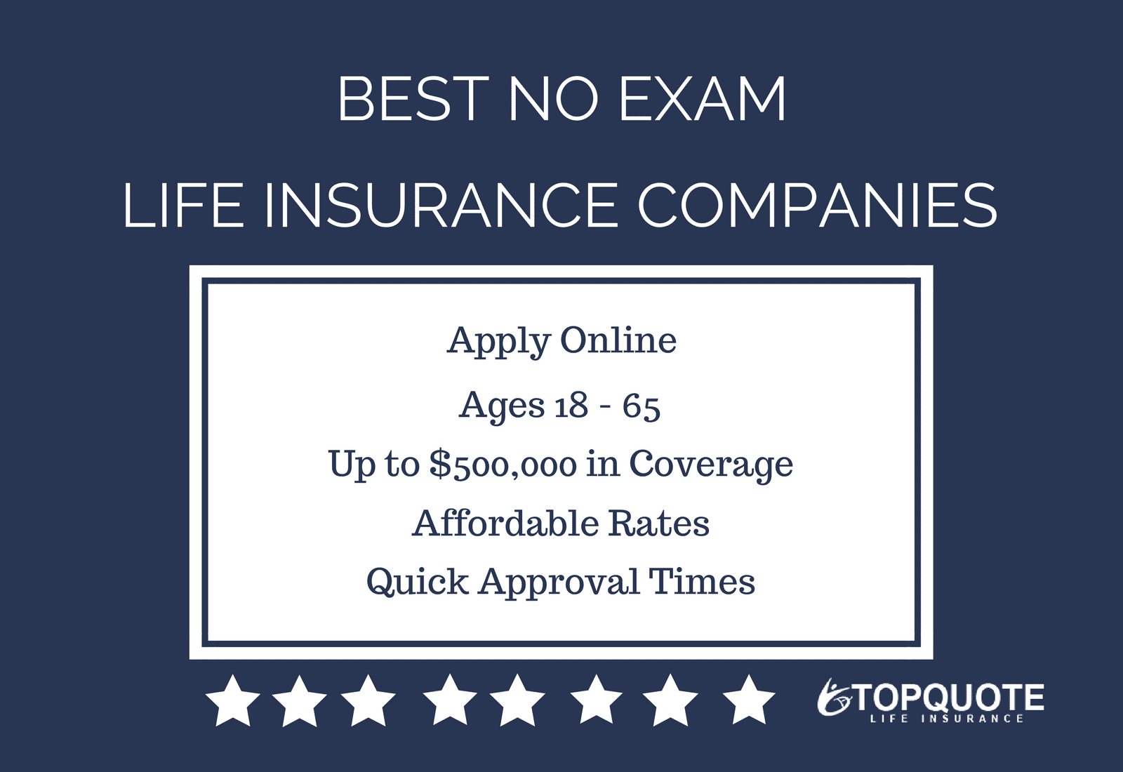 Online Quote For Life Insurance Fascinating Best Instant Approval No Exam Life Insurance Quotes